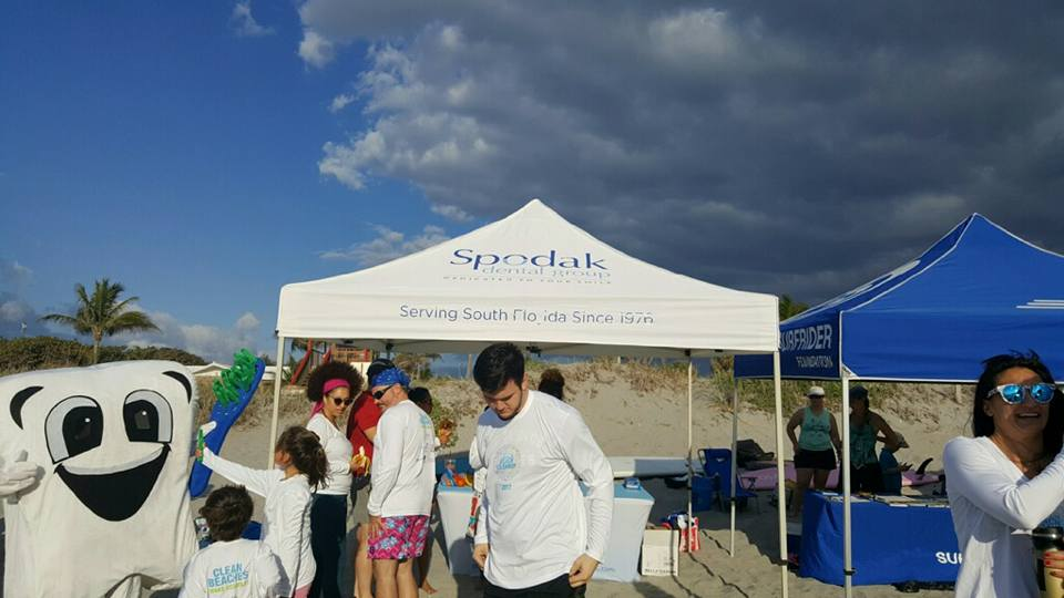 spodak dental beach cleanup palm beach county chapter surfrider foundation 2018