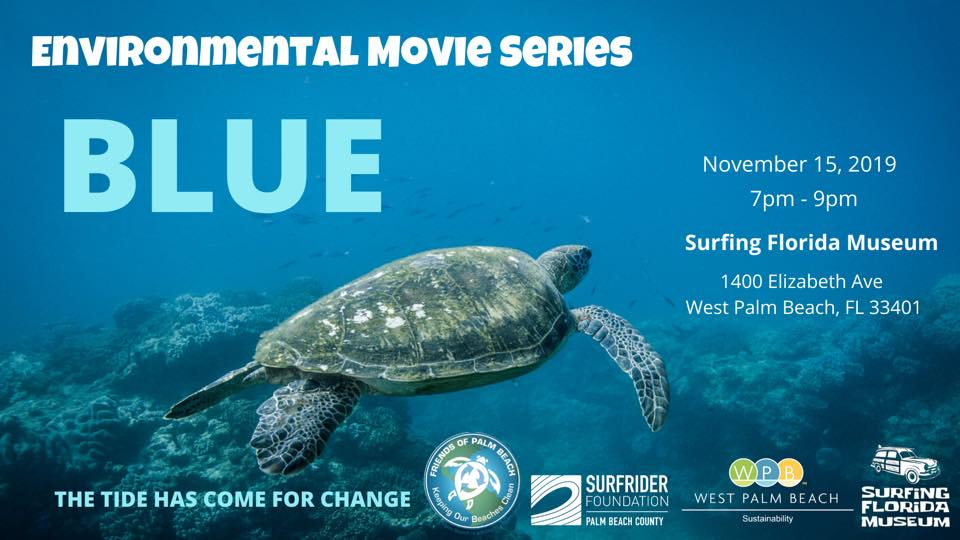 Watch Blue documentary at the Surfing Florida Museum