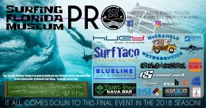 March 30th – Surfing Florida Museum Eco Pro Series – Stop #3!