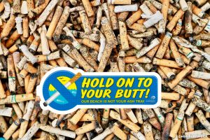 Surfrider PBC chapter to partner with Tobacco Free Florida to promote #HoldOntoYourButt campaign